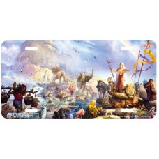 The Celebration- Noahs Ark Religious Airbrushed License Plate
