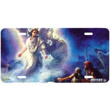 The Angel- Religious Airbrushed License Plate