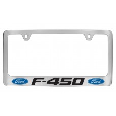 Ford - F-450  W / 2 Logos - Chrome Plated Brass