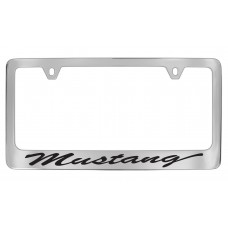 Ford - Mustang - Chrome Plated Brass - Script
