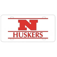 N HUSKERS BAR WHITE - BAR