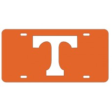 BLOCK T - Orange License Plate