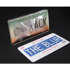 Photo Blur Multi Angle Anti Photo License Plate Cover