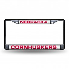 NEBRASKA BLACK LASER CHROME FRAME
