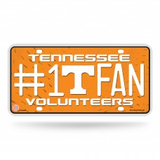 TENNESSEE #1 FAN METAL TAG