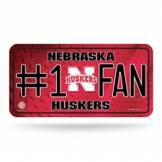 NEBRASKA #1 FAN METAL TAG