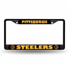 STEELERS BLACK CHROME FRAME