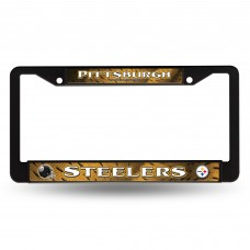 PITTSBURGH STEELERS BLACK CHROME FRAME