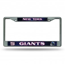 NY GIANTS BLUE BG CHROME FRAME