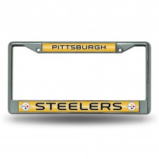 STEELERS BLING CHROME FRAME