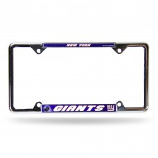 NEW YORK GIANTS BLUE BG EZ VIEW CHROME FRAME
