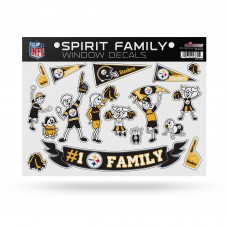 STEELERS FAMILY STICKER SHEET LARGE
