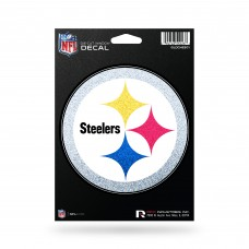 PITTSBURGH STEELERS BLING MEDIUM DIE CUT DECAL