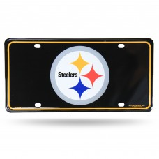 STEELERS PRIMARY LOGO METAL TAG (BLACK)
