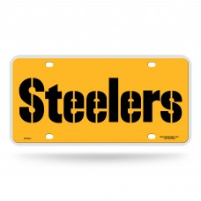 STEELERS WORDMARK METAL TAG (YELLOW)