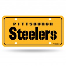 PITT STEELERS WORDMARK METAL TAG(YELLOW)