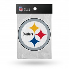 STEELERS SHAPE CUT STATIC CLING