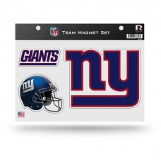 NY GIANTS TEAM MAGNET SHEET