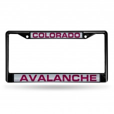 COLORADO AVALANCHE BLACK LASER CHROME FRAME