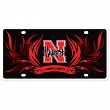 Nebraska Flame License Plate