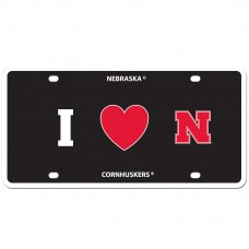 I Love Nebraska License Plate