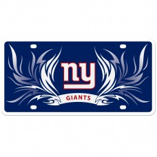 Giants Flame License Plate