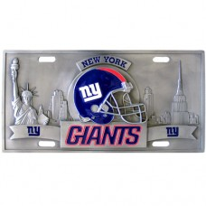 New York Giants - 3D NFL License Plate