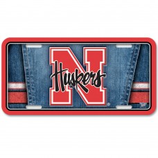 Nebraska University of Metal License Plate
