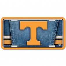 Tennessee University of Metal License Plate