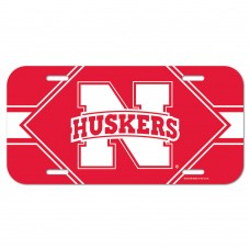 Nebraska University of License Plate