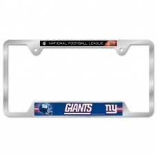 New York Giants Metal License Plate Frame