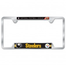 Pittsburgh Steelers Metal License Plate Frame