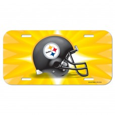 Pittsburgh Steelers Helmet License Plate