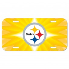 Pittsburgh Steelers Gold Logo License Plate