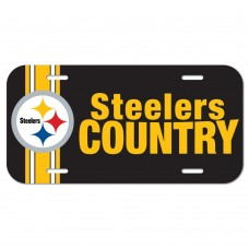 Pittsburgh Steelers Steelers Country License Plate