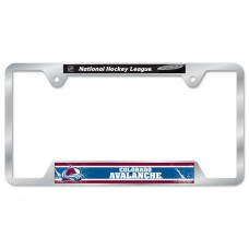 Colorado Avalanche Metal License Plate Frame