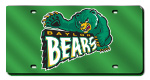 Baylor Bears License Plates