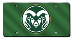 Colorado State Rams License Plates