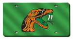 Florida A&M Rattlers License Plate