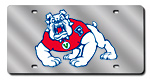 Fresno State Bulldogs License Plates