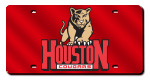 Houston Cougars License Plates