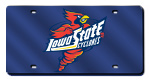 Iowa State Cyclones License Plates