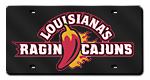 Louisiana Lafayette Ragin' Cajuns License Plates