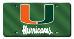 Miami Hurricanes License Plates