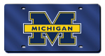 Michigan Wolverines License Plates