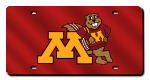 Minnesota Golden Gophers License Plates
