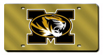 Missouri Tigers License Plates