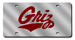 Montana Grizzlies License Plates