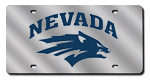 Nevada Wolf Pack License Plate