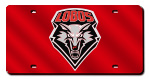 New Mexico Lobos License Plates